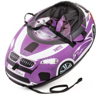 Sanki_Vatrushka_Tubing_Small_Rider_Snow_Cars_BW_Violet_result