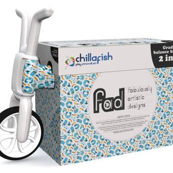 Беговел-каталка Chillafish Bunzi (авторский дизайн, резиновые колеса) мультяшки